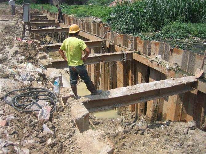 止水鋼板樁(zhuang)